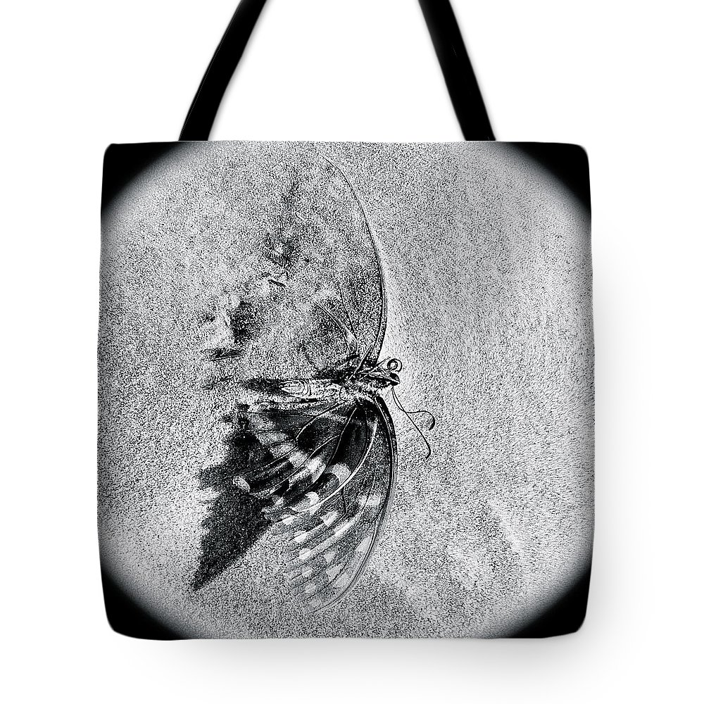 Butterfly Tote Bag featuring the photograph Grief by Amber Carter