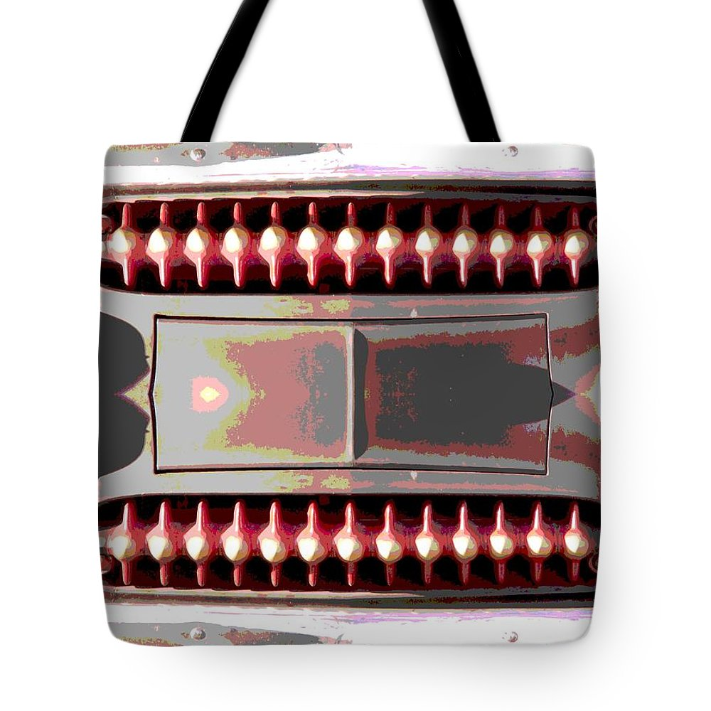 Car Tote Bag featuring the photograph Grilled by Tim Allen