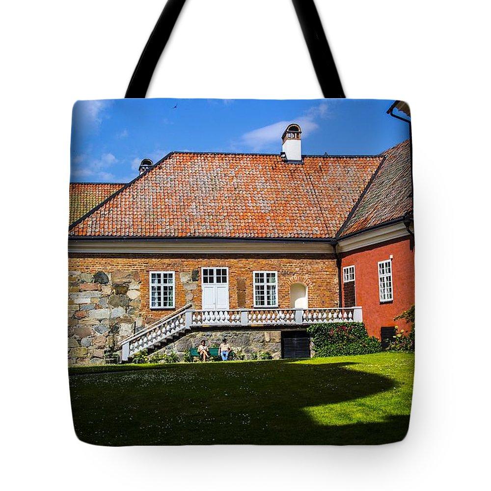 Gripsholm Tote Bag featuring the photograph Gripsholm Keep by Roberta Bragan