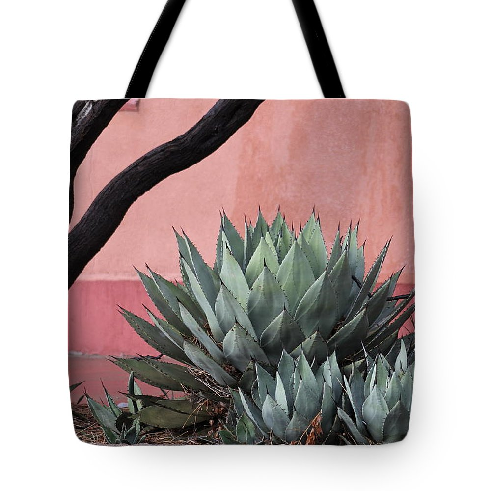 Cacti Tote Bag featuring the photograph Group Of Cacti by G Berry