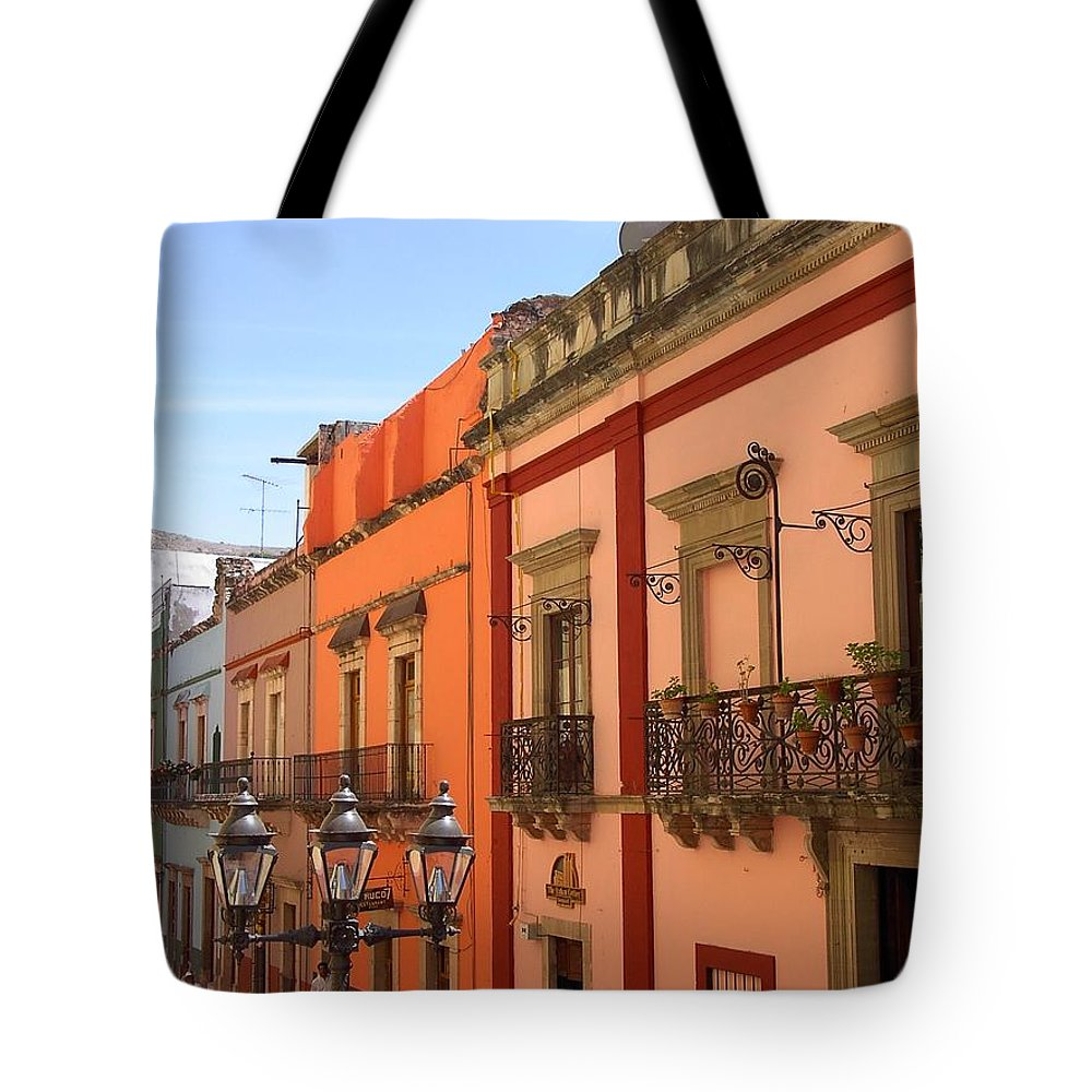 Charity Tote Bag featuring the photograph Guanajuato by Mary-Lee Sanders