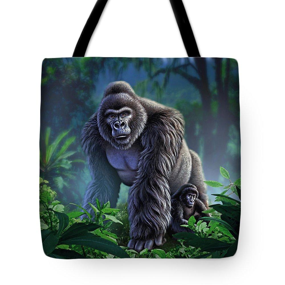 Jungles Tote Bags