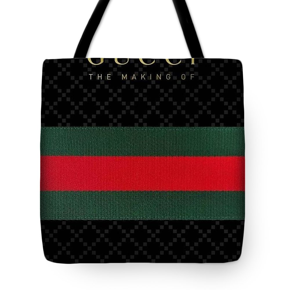 ce24f6f7 Gucci Tote Bag featuring the digital art Gucci by Aaron De Wulf