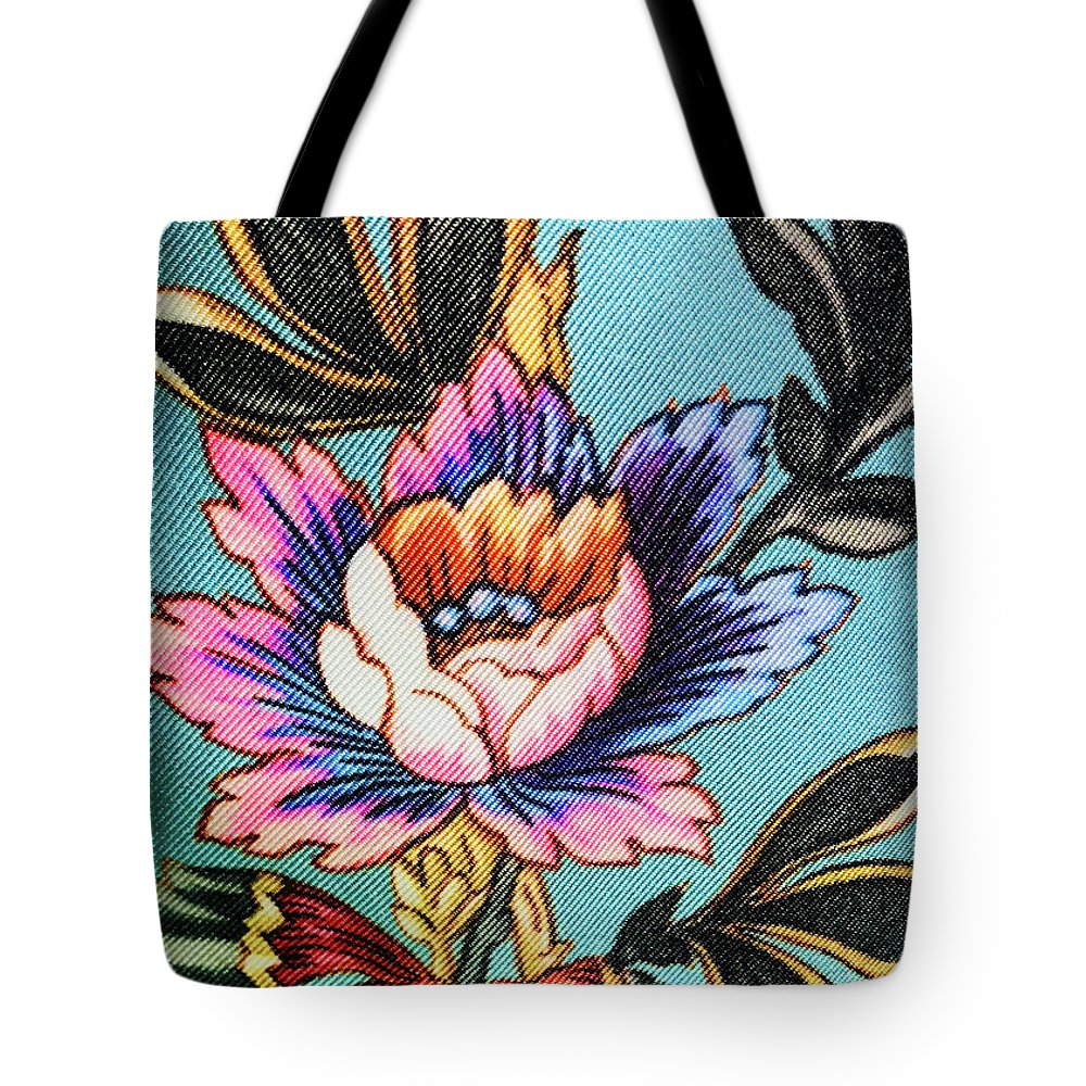 Tote Bag featuring the photograph Garden Flower by Ceil Diskin