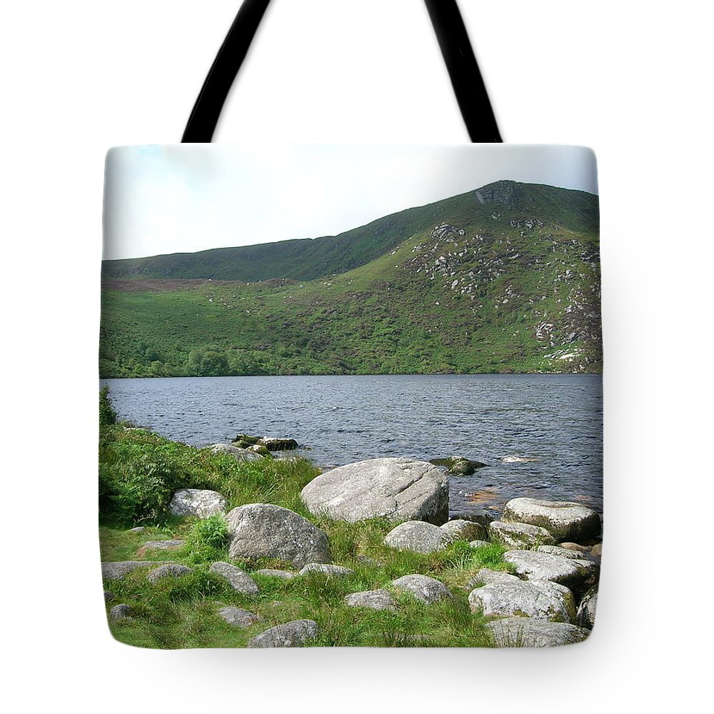 Lake Tote Bag featuring the photograph Guinness Lake by Tiziana Verso