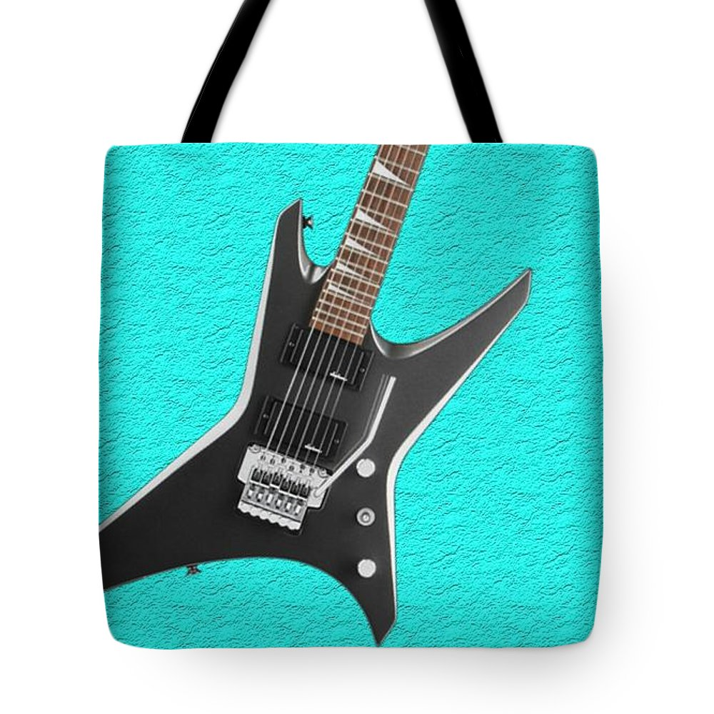 Tote Bag featuring the photograph Guitar by Melissa Barbieri