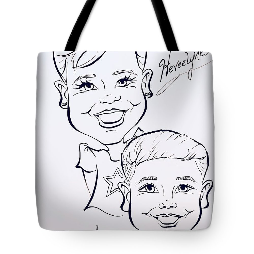 Tote Bag featuring the painting H A by Sally Huhta