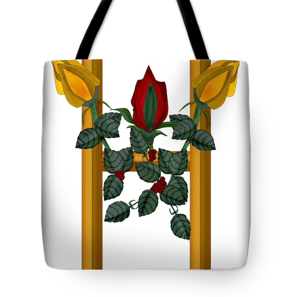 H Tote Bag featuring the painting H Is For Hope by Anne Norskog