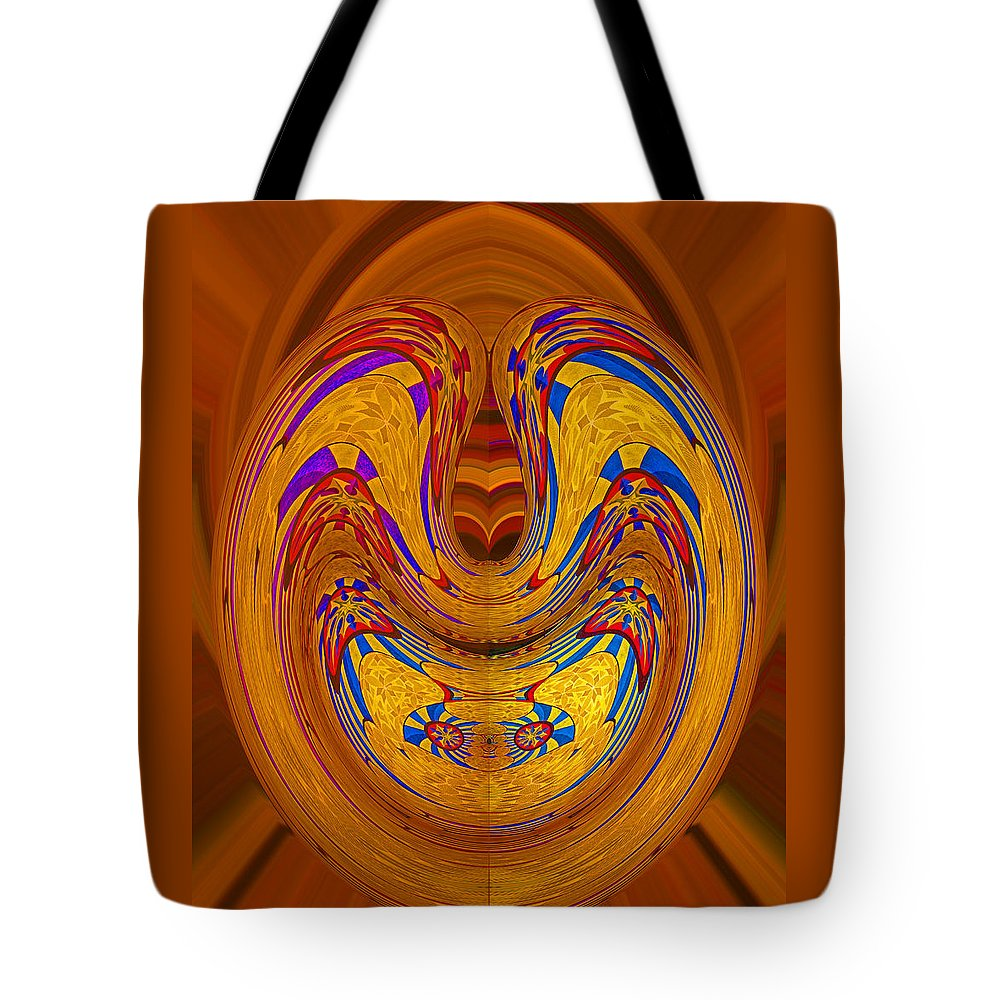Digital Art Tote Bag featuring the photograph Ha Ha Ha - Isn't It Funny by Marian Bell