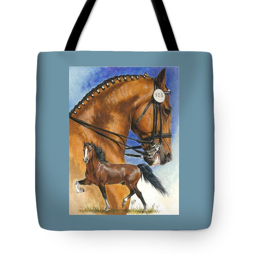 Hackney Tote Bag featuring the mixed media Hackney by Barbara Keith