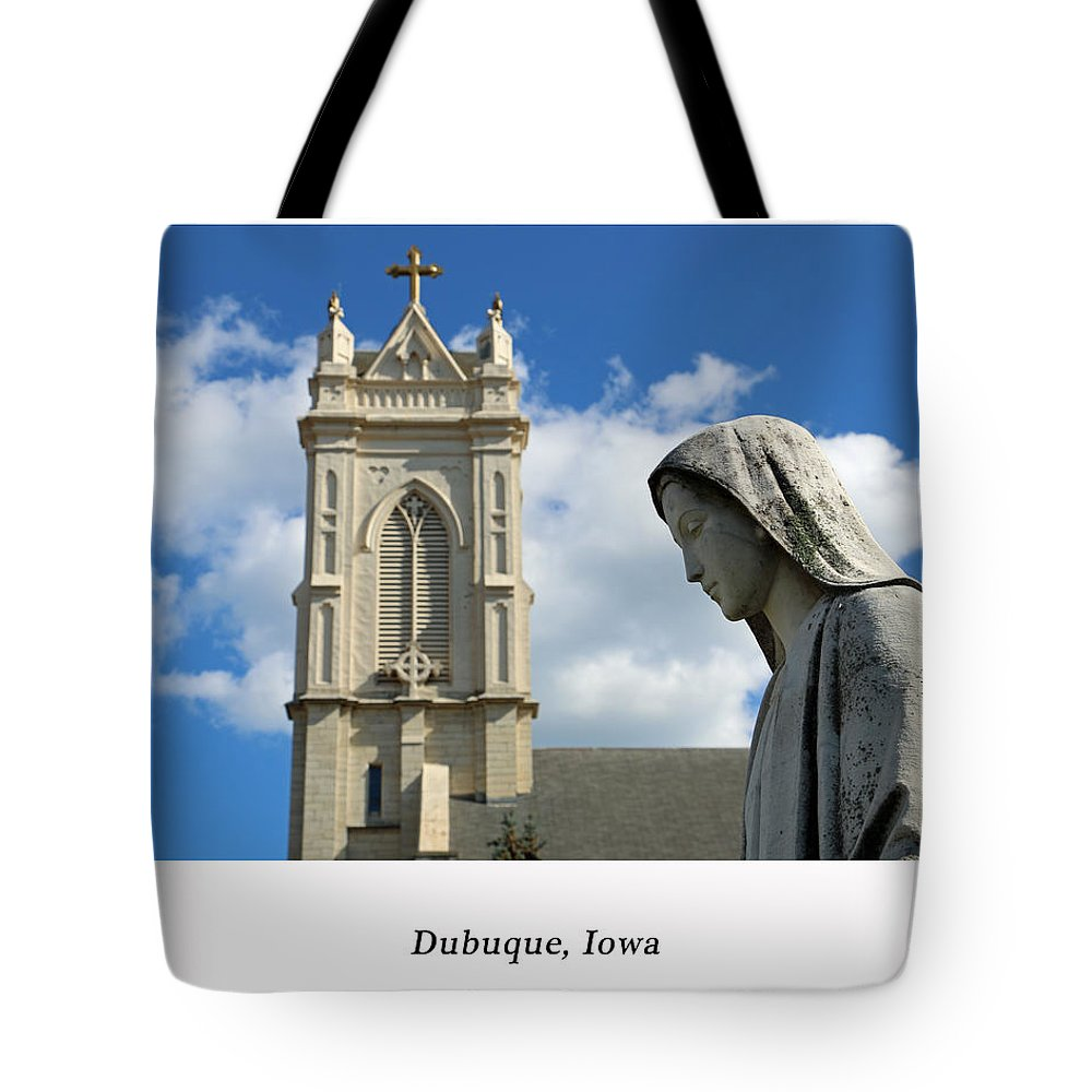 Mary Tote Bag featuring the photograph Hail Mary, Full Of Grace by Lovin America