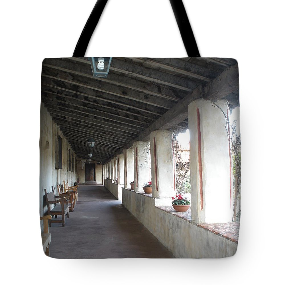 Church Tote Bag featuring the photograph Hall Way by Jeanie Watson
