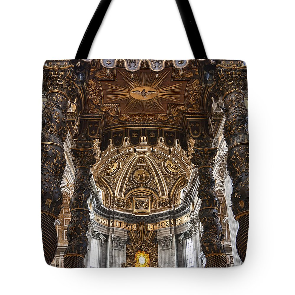 Italy Tote Bag featuring the photograph Hallowed Beauty by Janet Fikar