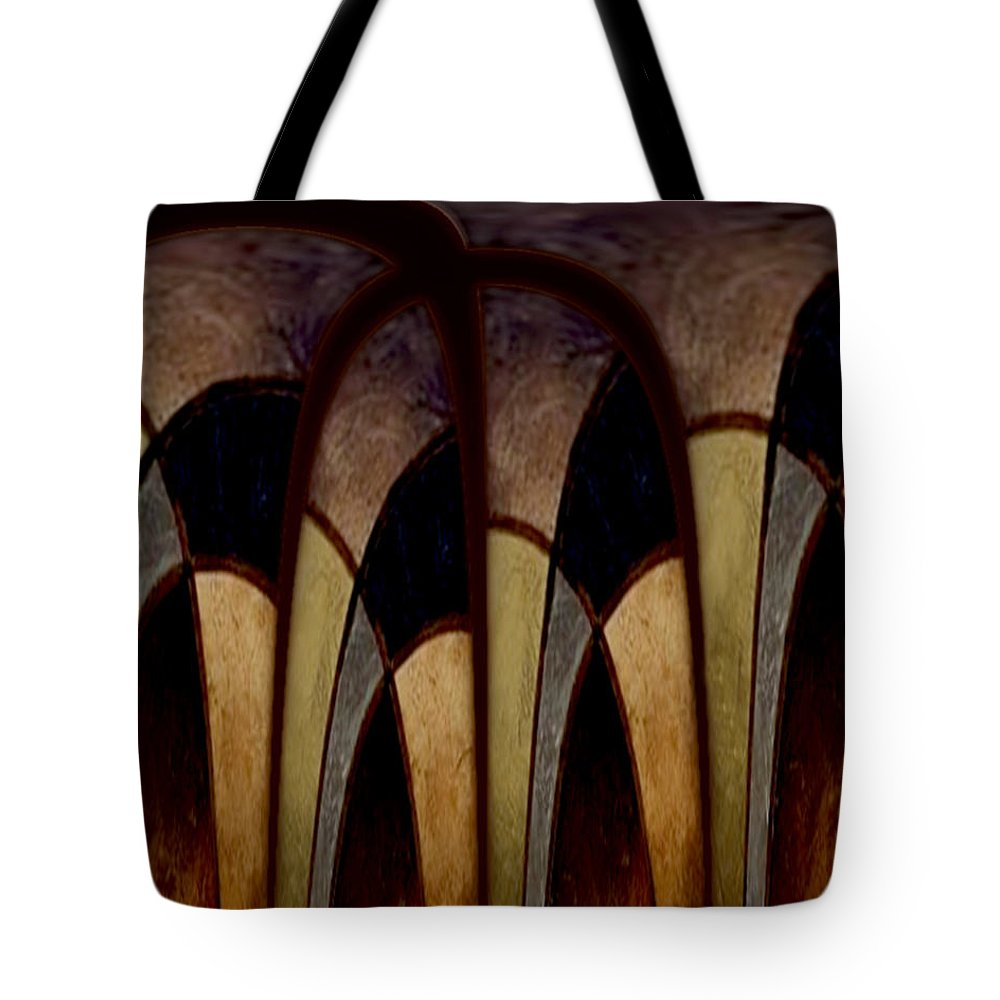 Hallowed Hills Tote Bag featuring the painting Hallowed Hills by Jill English