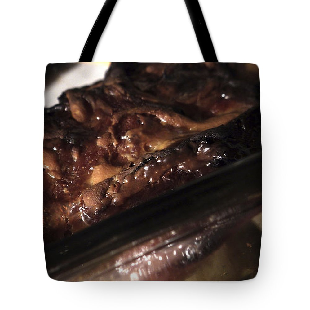 Food Tote Bag featuring the photograph Ham And Potatoes by Joseph A Langley