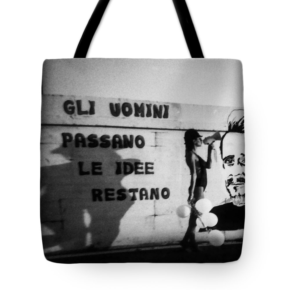 Cemento Tote Bag featuring the photograph Hammerhoi by Alessandra Gianfrate