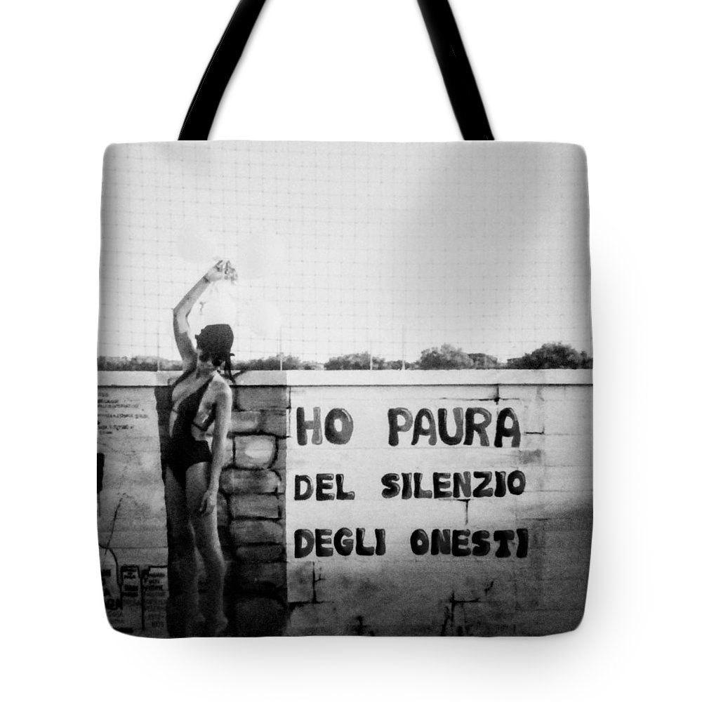 Cemento Tote Bag featuring the photograph Hammershoi by Alessandra Gianfrate