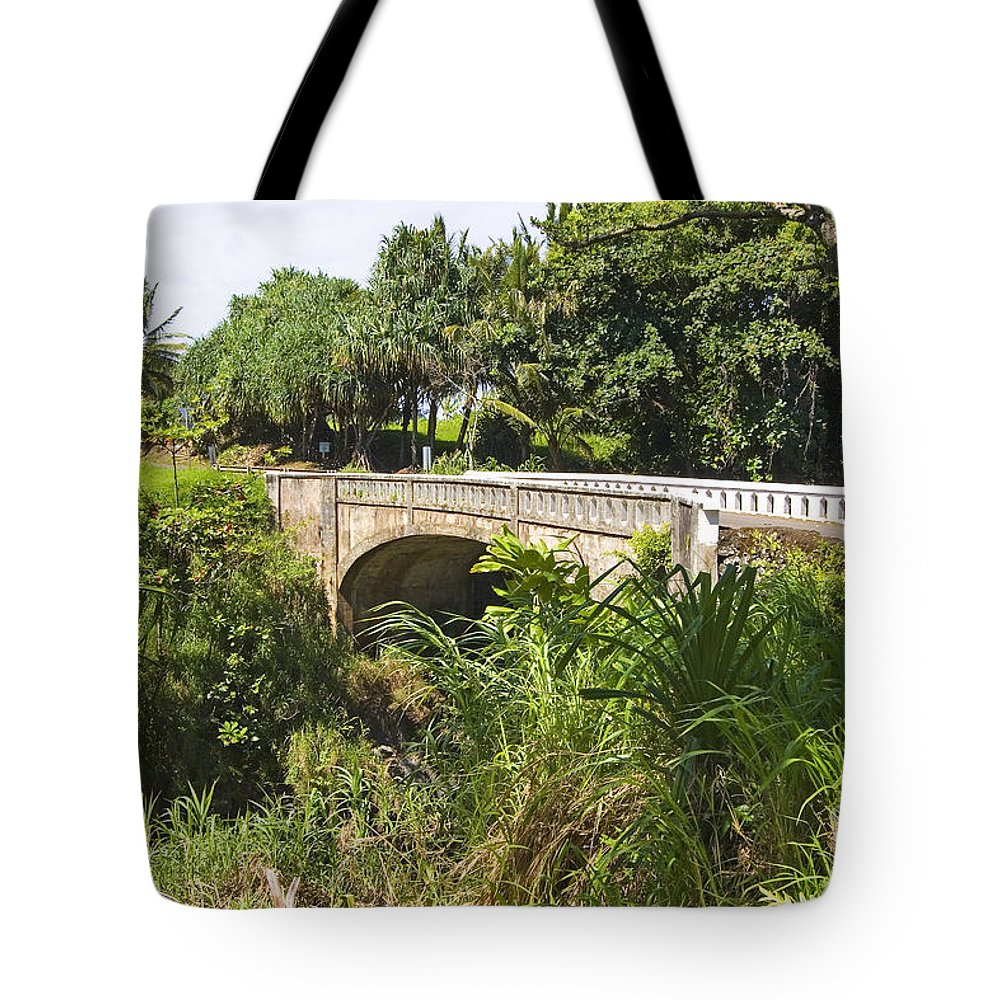 Afternoon Tote Bag featuring the photograph Hana, Kipahulu by Ron Dahlquist - Printscapes