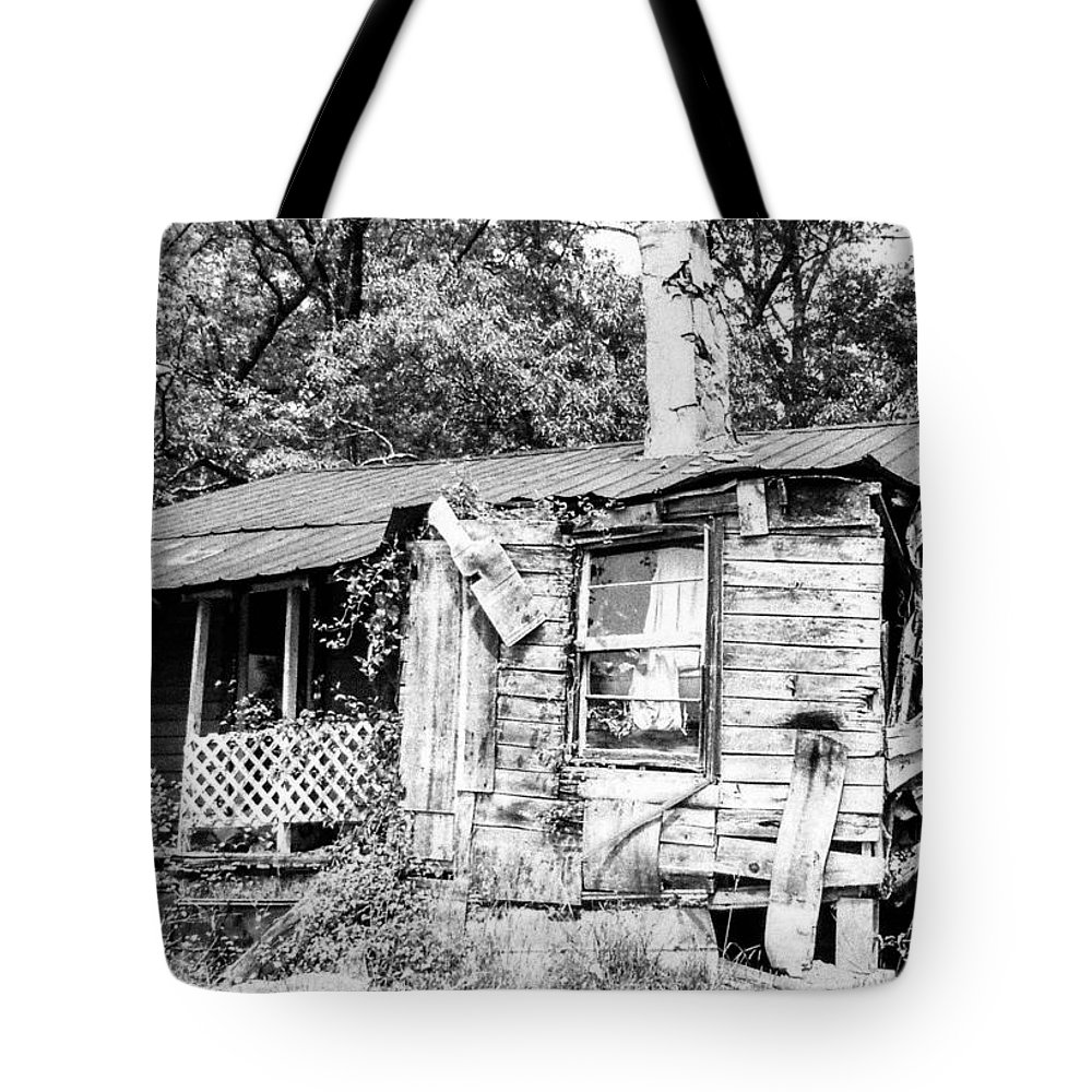 Shack Tote Bag featuring the photograph Handiman Special by Tom Zukauskas