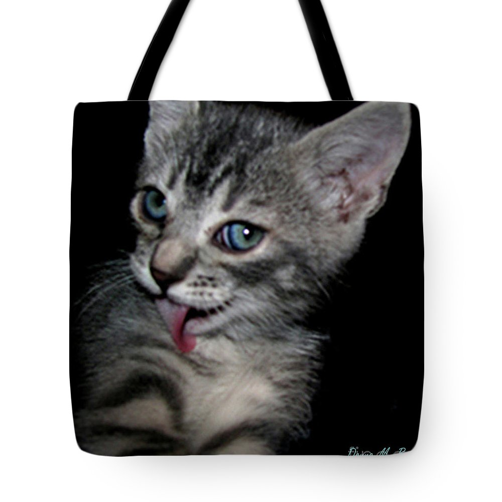 Animal Tote Bag featuring the photograph Handsome by Donna Brown