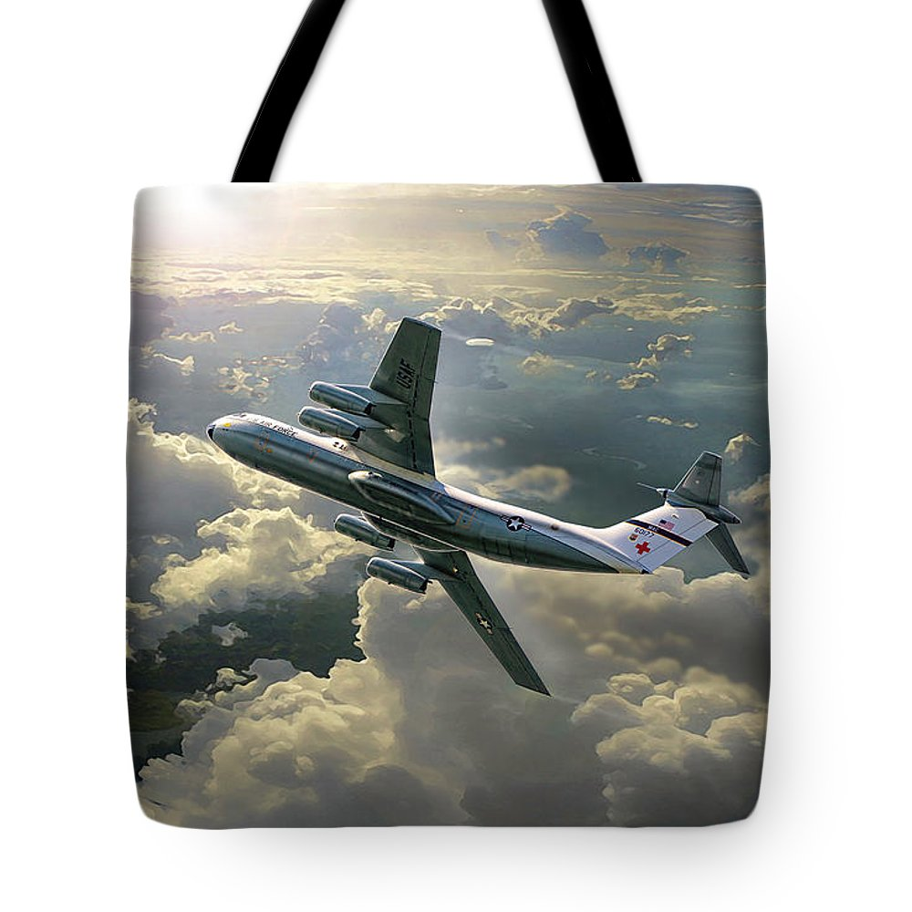 War Tote Bag featuring the digital art Hanoi Taxi by Peter Van Stigt