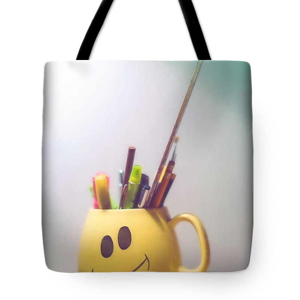 Coffee Cup Tote Bag featuring the photograph Happiness Is by Scott Norris
