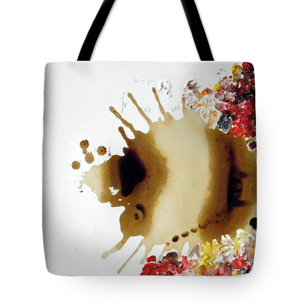 Luis Mcdonald Tote Bag featuring the painting Happiness by Luis McDonald