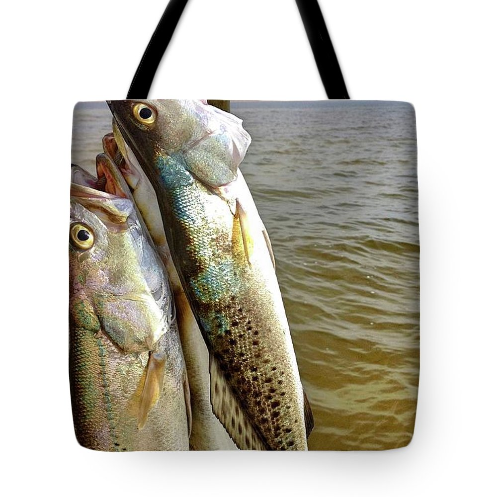 Happy Birthday Card Tote Bag featuring the photograph Happy Birthday Fisherman by Kristina Deane