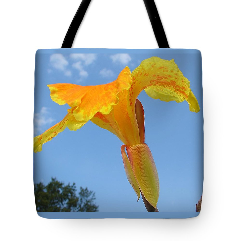 Tote Bag featuring the photograph Happy Canna by Luciana Seymour