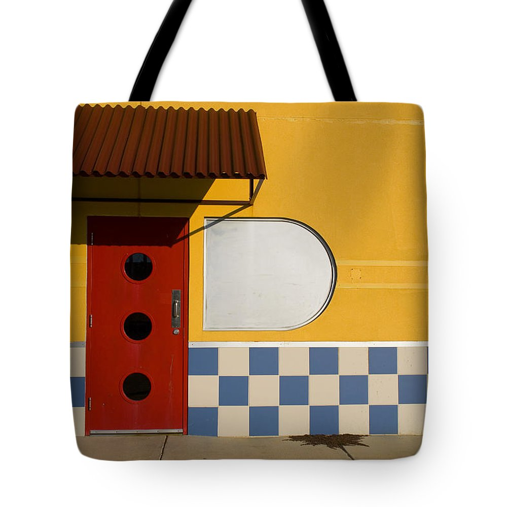 Architecture Tote Bag featuring the photograph Happy Days by Skip Hunt