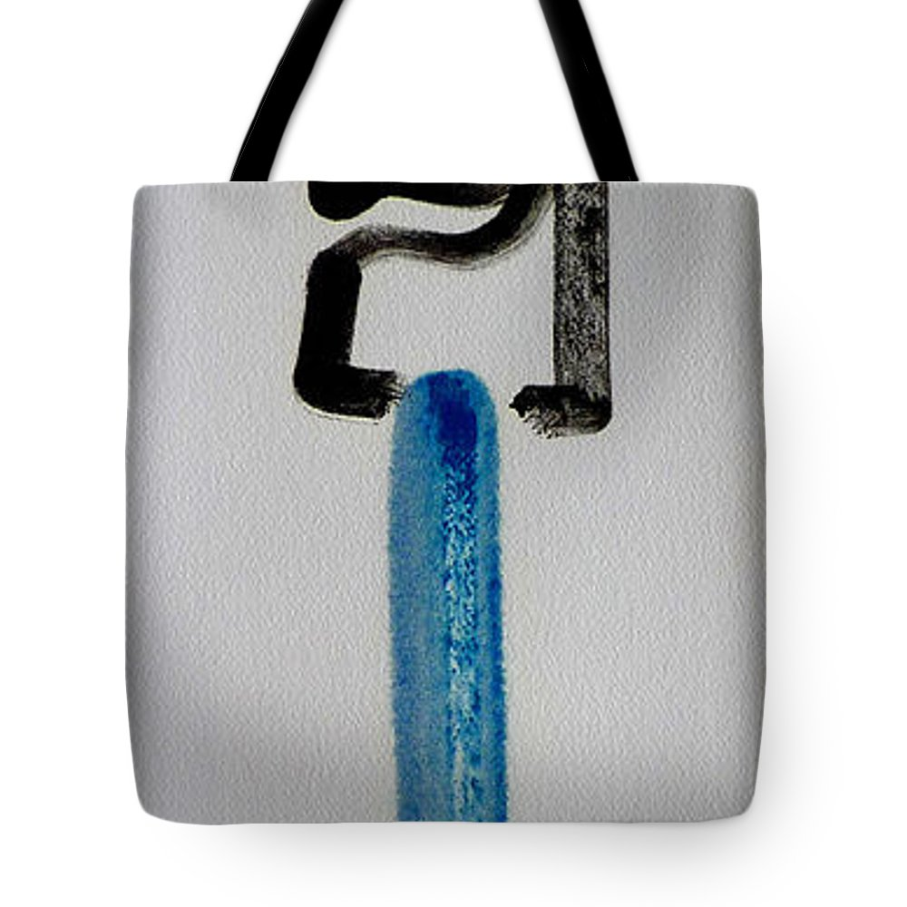 King Tote Bag featuring the painting Happy King by Charles Stuart
