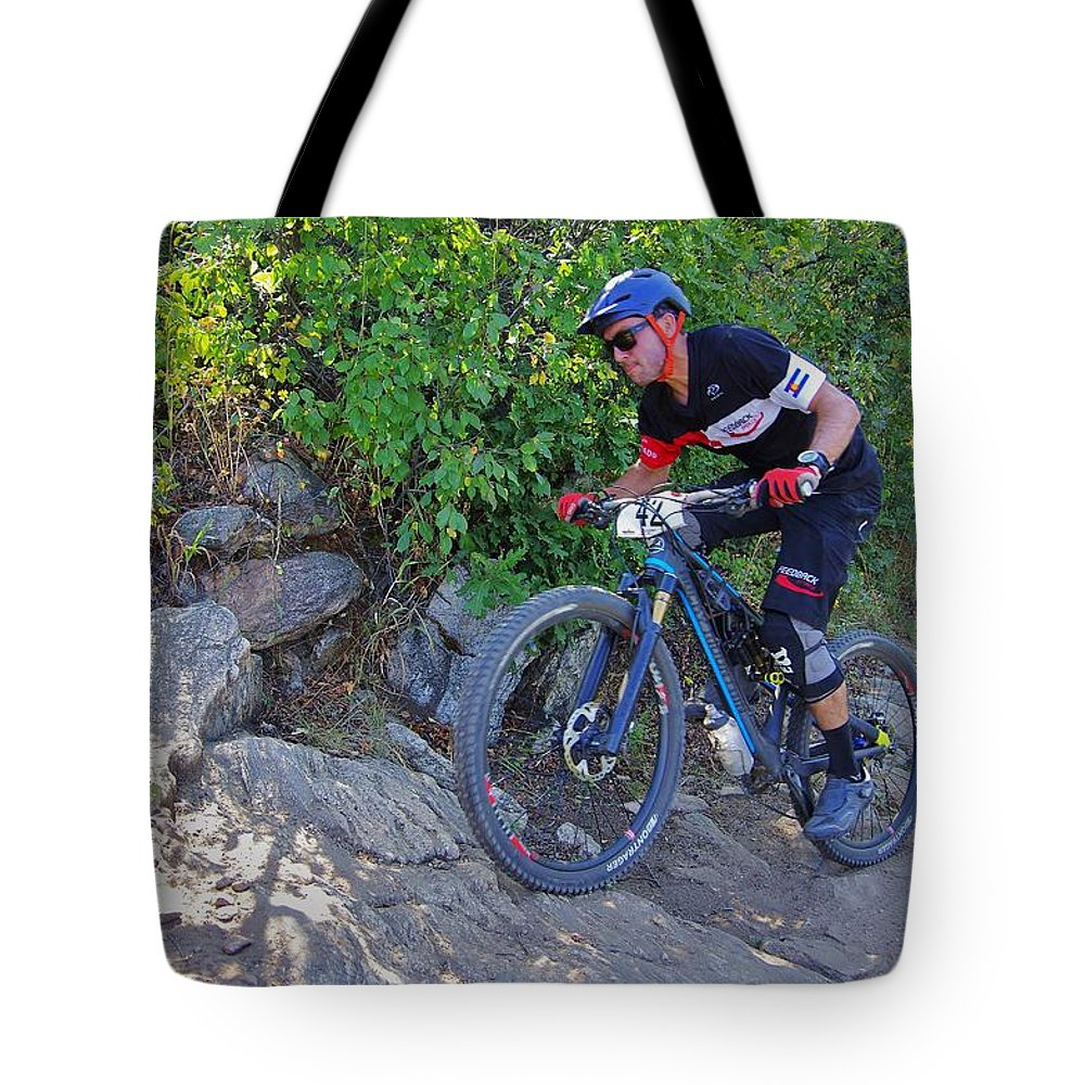 2015 Tote Bag featuring the photograph Hard Right #42 by Matt Helm