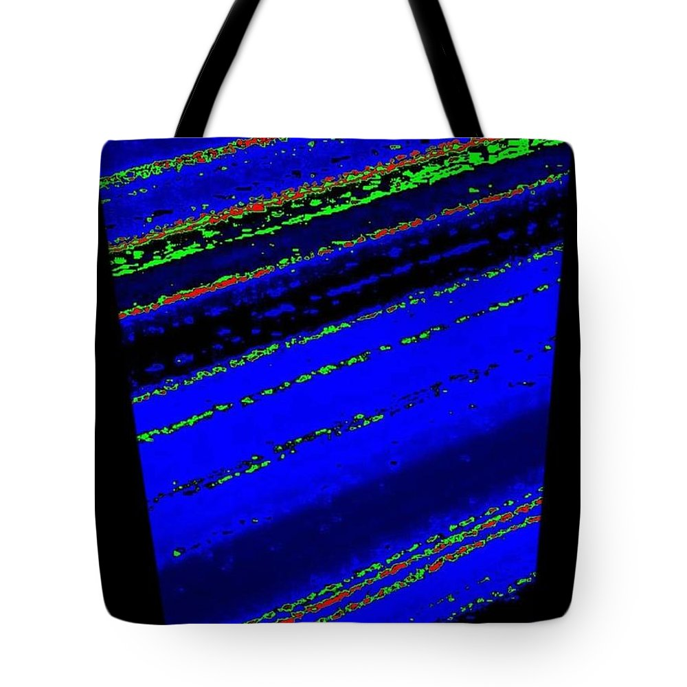 Abstract Tote Bag featuring the digital art Harmony 34 by Will Borden
