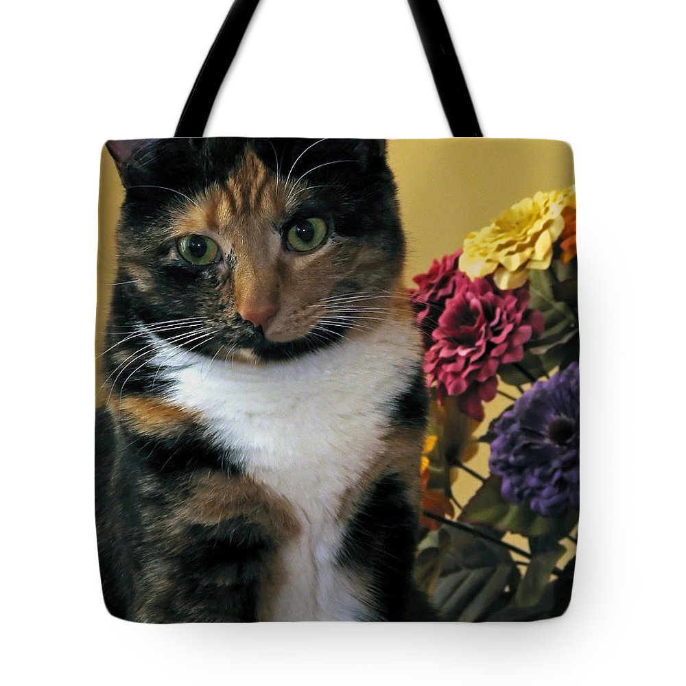 Animal Tote Bag featuring the photograph Harmony by Gary Adkins
