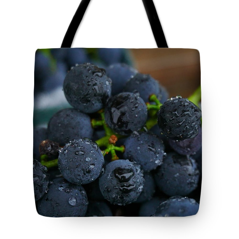Concord Tote Bag featuring the photograph Harvest Time by Amanda Jones