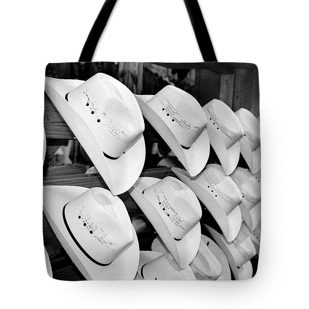 Hat Tote Bag featuring the photograph Hat And Boot Store Nashville Tn by Joseph Mari