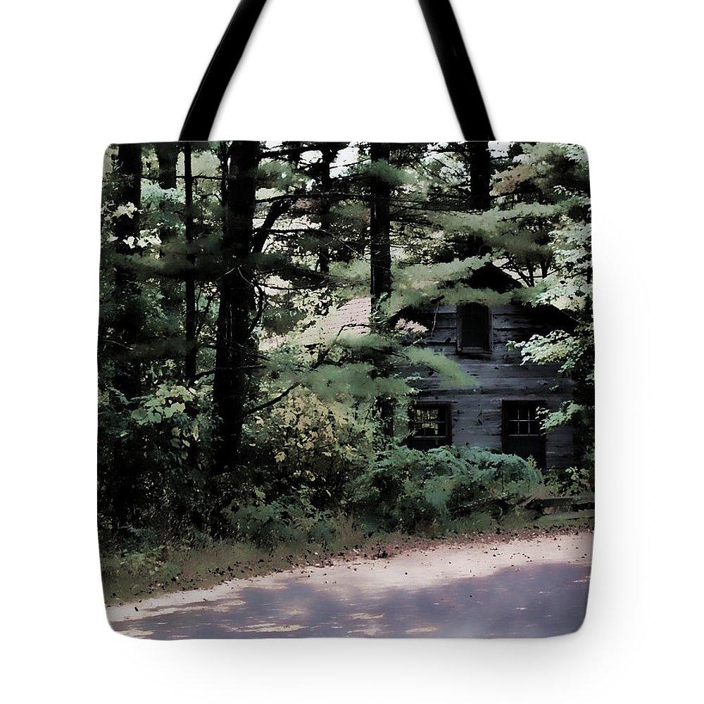 Lauren Radke Tote Bag featuring the photograph Haunted by Lauren Radke