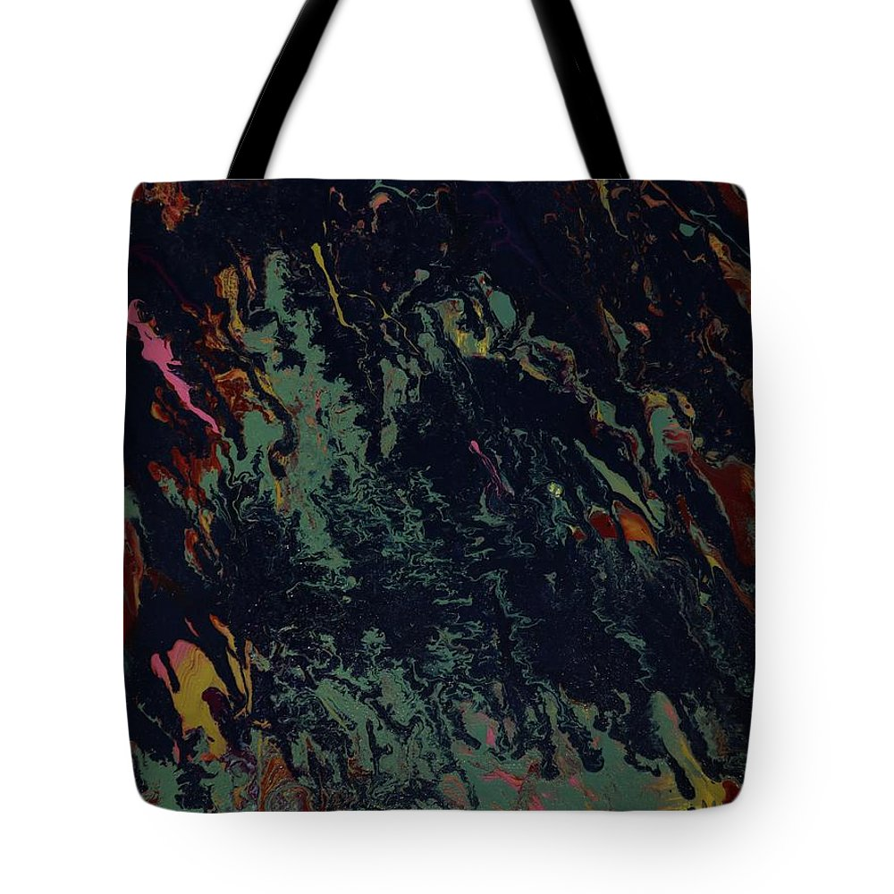Acrylic Tote Bag featuring the painting Haunted - 177 by Robert Dixon