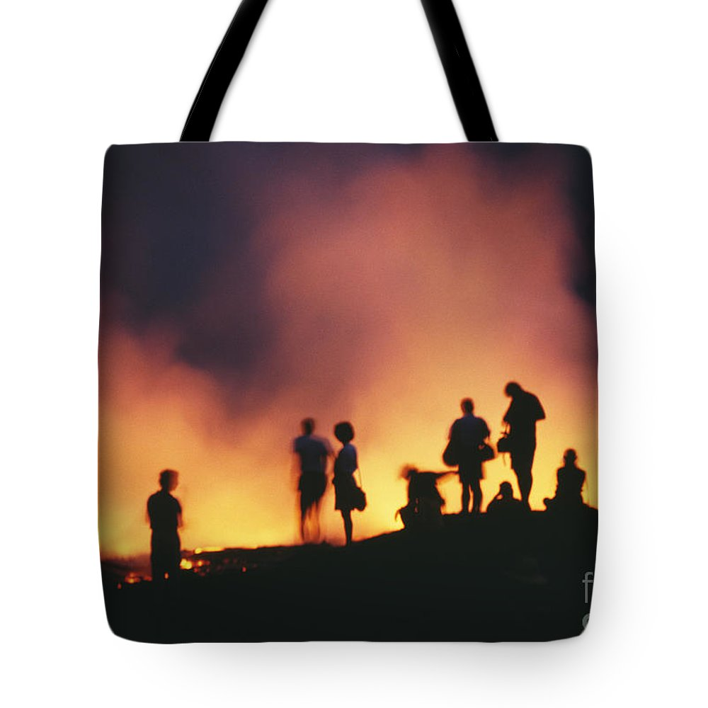 Active Tote Bag featuring the photograph Hawaii Volcanoes National Park by Bob Abraham - Printscapes