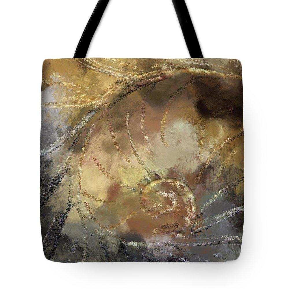 Hawaiian Tote Bag featuring the painting Hawaiian Sea Shell by Kedoki
