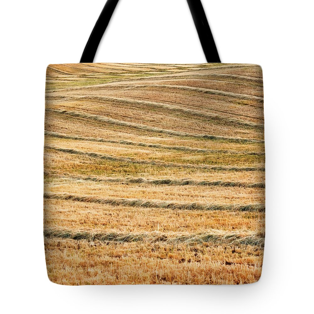 San Joaquin Valley Tote Bag featuring the photograph Hay Billows by Doug Holck