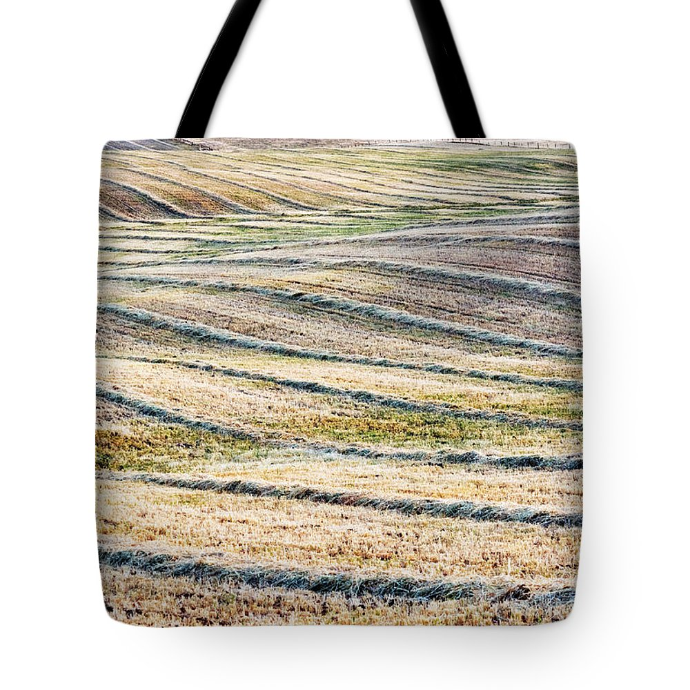 San Joaquin Valley Tote Bag featuring the photograph Hay Billows II by Doug Holck