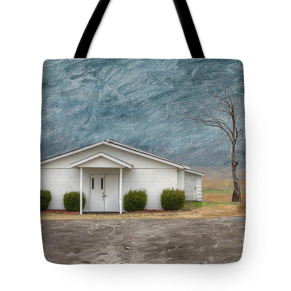 Horizontal Tote Bag featuring the digital art Haywood City Missouri by Larry Braun