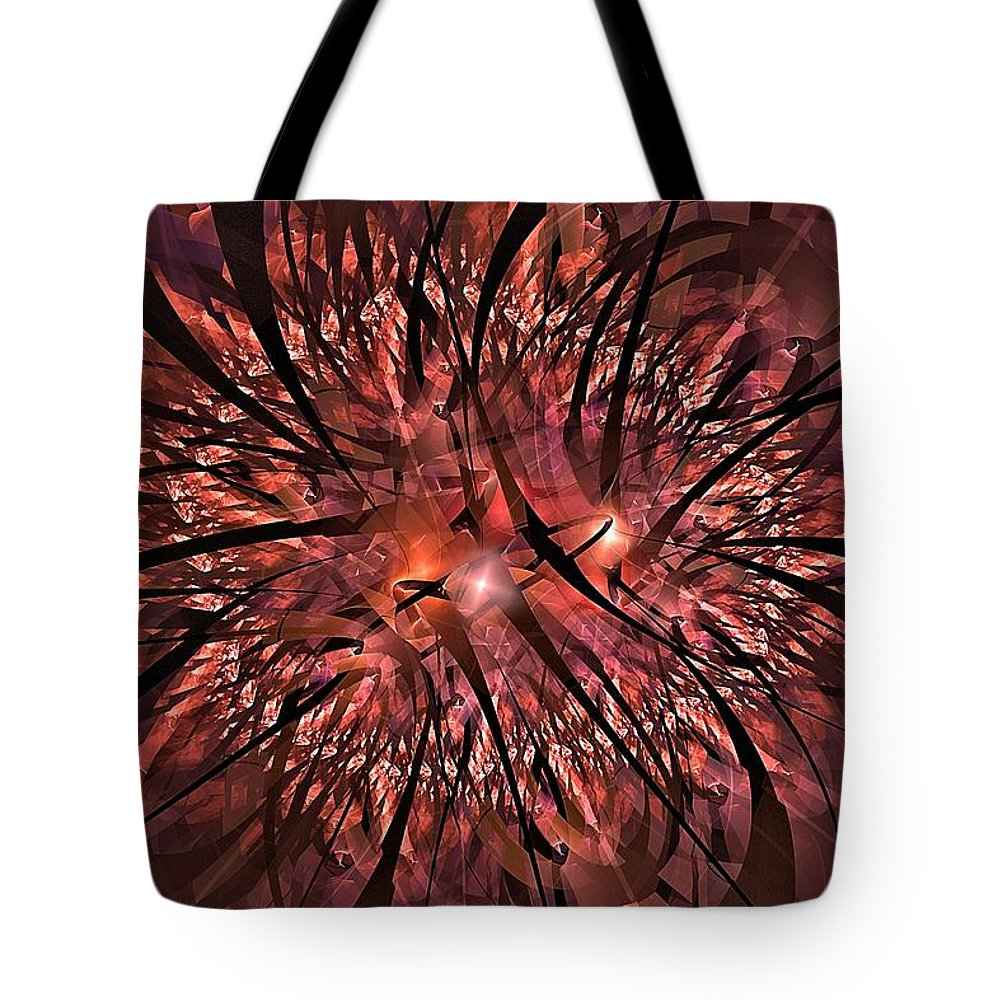Emotions Tote Bag featuring the digital art Hazardous Thoughts-2 by Doug Morgan