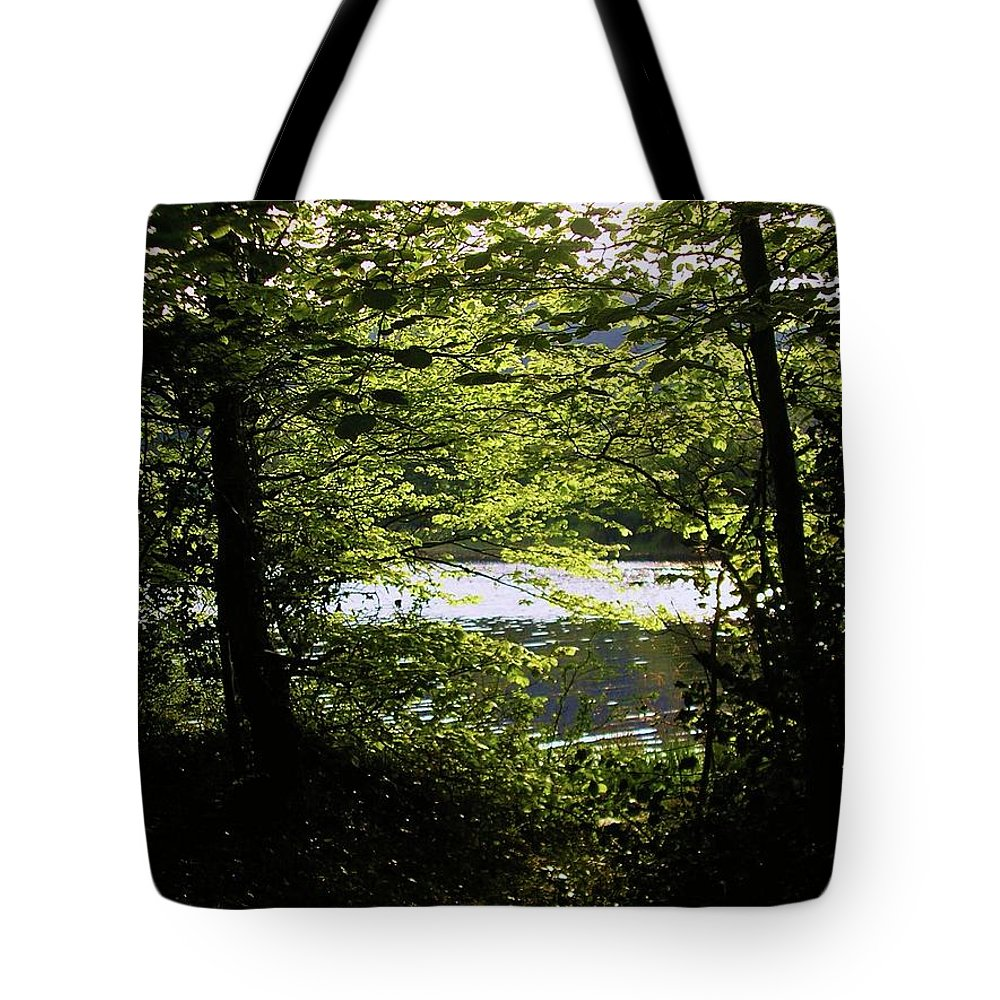 Landscape Tote Bag featuring the photograph Hazelwood Co. Sligo Ireland. by Louise Macarthur Art and Photography
