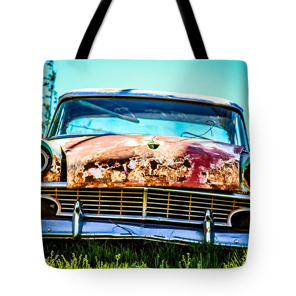 Tote Bag featuring the photograph Hdr Car by McKinzi Gulickson