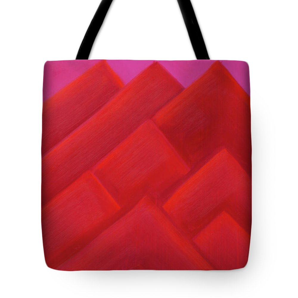 He Tu Tote Bag featuring the painting He Tu Fire by Adamantini Feng shui