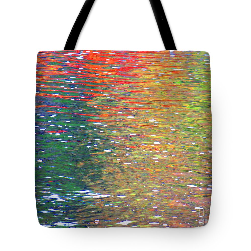 Water Art Tote Bag featuring the photograph Healing Journey by Sybil Staples