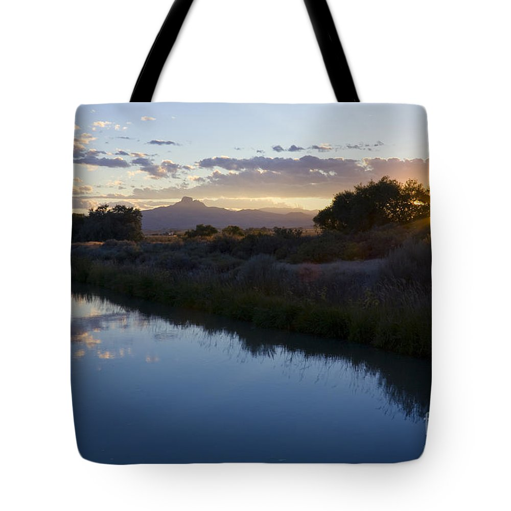 Heart Mountain Tote Bag featuring the photograph Heart Mountain by Idaho Scenic Images Linda Lantzy