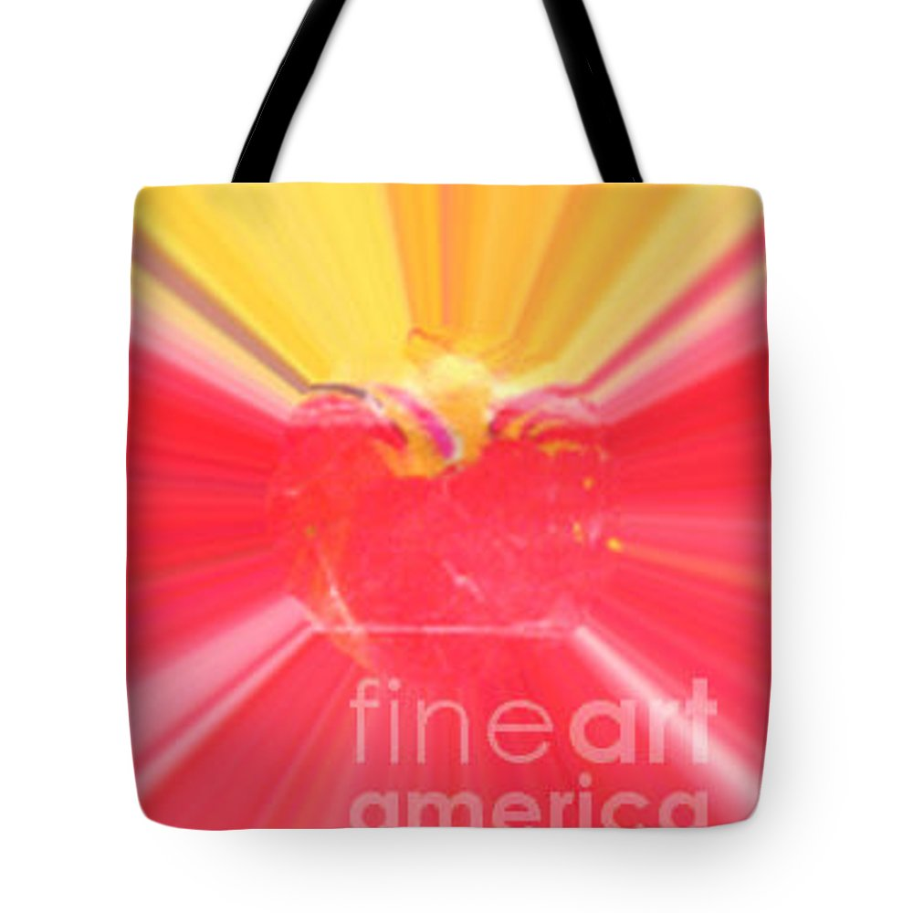 Heart Tote Bag featuring the painting Heartbeat by Vicki Lynn Sodora